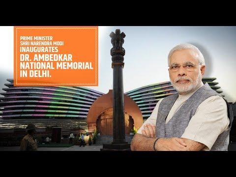 PM Modi inaugurates Dr. Ambedkar National Memorial at 26 Alipur Road, New Delhi