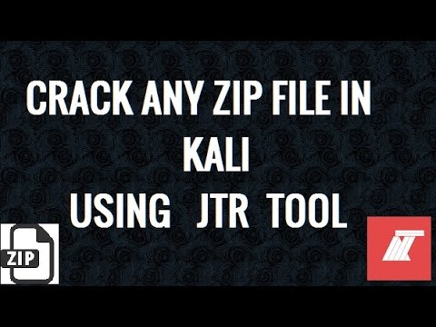 how to crack rar password with kali linux