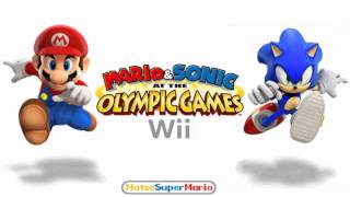 Mario & Sonic at the Olympic Games (Wii) Music - Athletics - 400m
