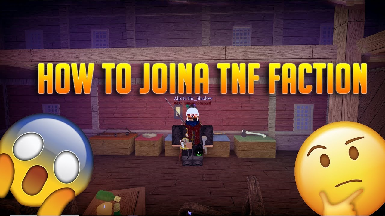 Roblox Tnf How To Join Hbc Tnf How To Join Faction Youtube