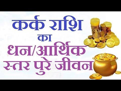 कर्क राशि का आर्थिक जीवन/Kark Rashi Money Life/Cancer Money Horoscope