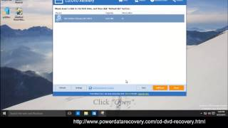 CD/DVD Recovery With MiniTool Power Data Recovery