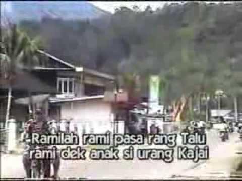 Lagu Daerah Yoo, Rang Talu