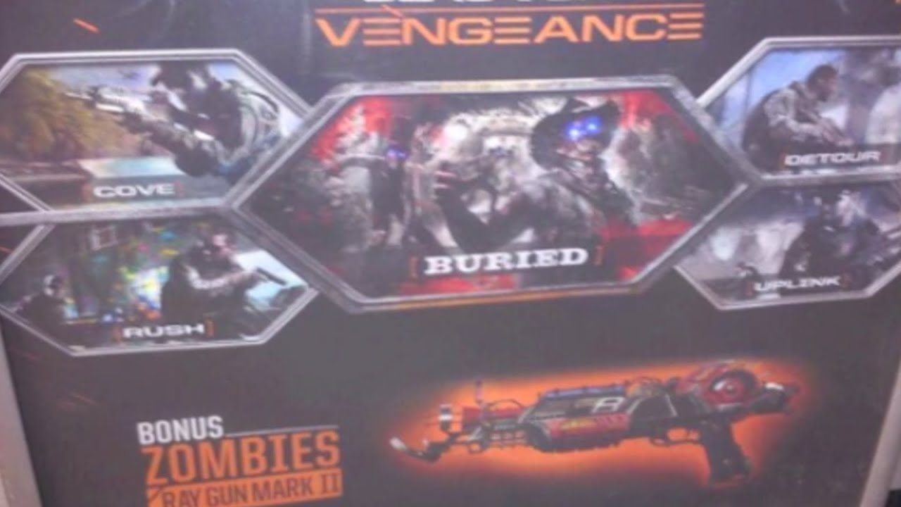 Vengeance Map Pack Black Ops 2