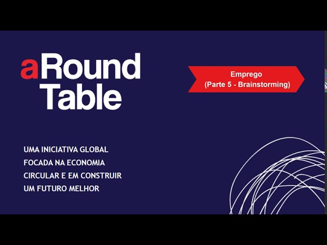 aRound Table 2020 (Parte 5 Brainstorming – Emprego e Mobilidade): CEC Almada & Braga