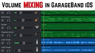 GarageBand Tutorial - How to mix a song in GarageBand iOS