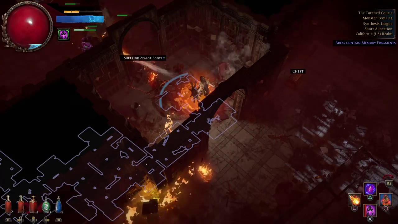 This Game Is So Good After Crash Path Of Exile PS4 Part 8 Twitch Stream