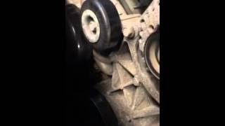 Chevy a/c belt installation no tensioner