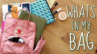 WHATS IN MY BAG?! (FALL 2017)