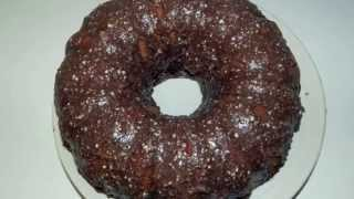Fudge Marble Bundt Cake