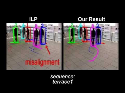 Multi-target Tracking by Continuous Energy Minimization (CVPR 2011)