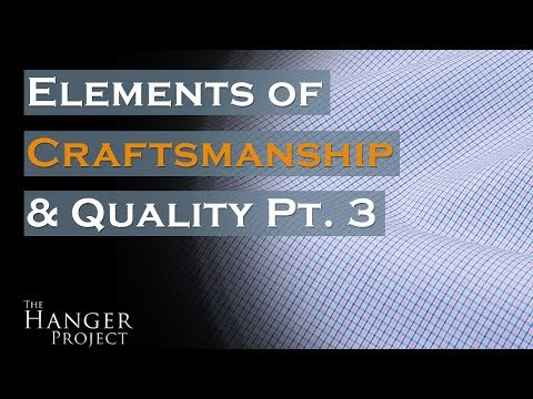 MyTailor Bespoke Shirt | Elements of Craftsmanship & Quality Pt.3