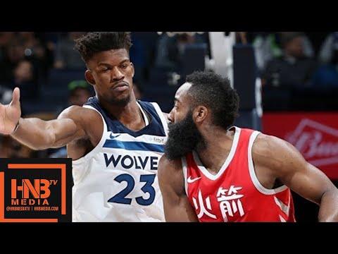 Houston Rockets vs Minnesota Timberwolves Full Game Highlights / Feb 13 / 2017-18 NBA Season