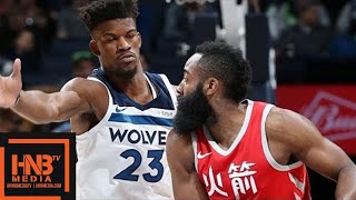 Houston Rockets vs Minnesota Timberwolves Full Game Highlights / Feb 13 / 2017-18 NBA Season