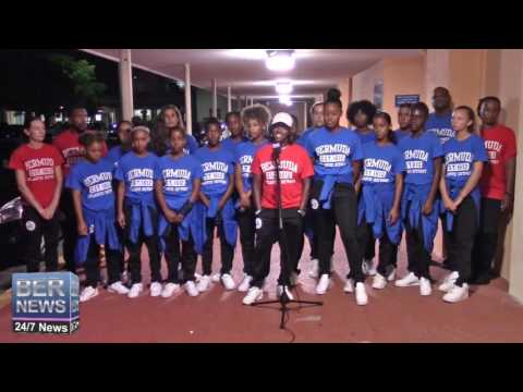 Bermuda U/15 Girls Football Team Return Home, August 18 2016