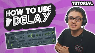 How to Properly Use Delay on Your Vocals (FL Studio Tutorial)