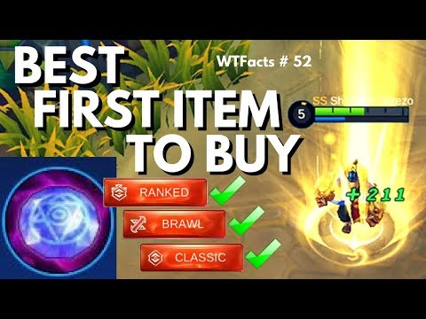 ELEGANT GEM IS THE BEST FIRST ITEM TO BUY | WTFacts #52 | Mobile Legends