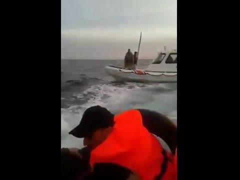 Turkish Coast Guard Attacks Boat Full of Refugees