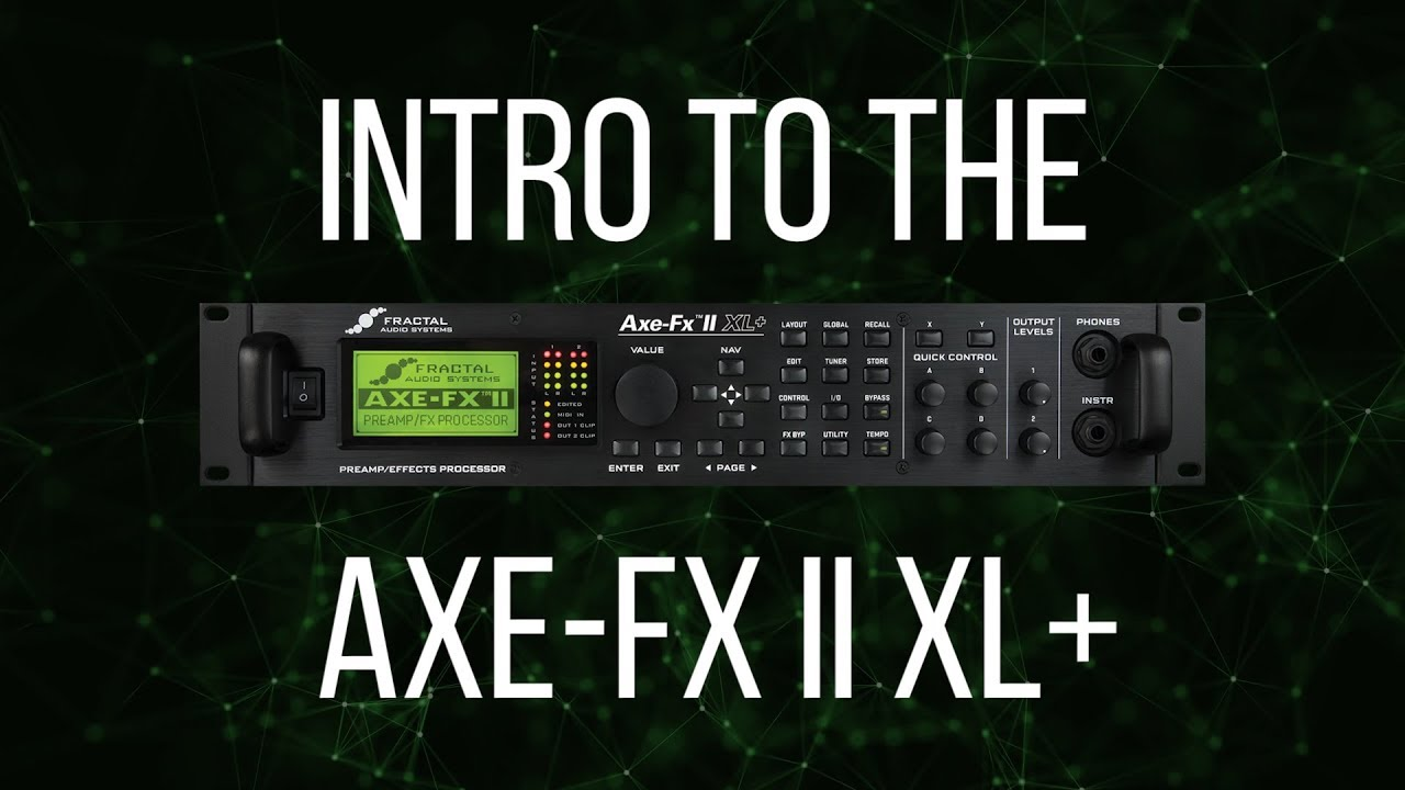FRACTAL AUDIO AXE-FX II MARK I PREAMPLIFIER QUANTUM DRIVERS FOR WINDOWS XP