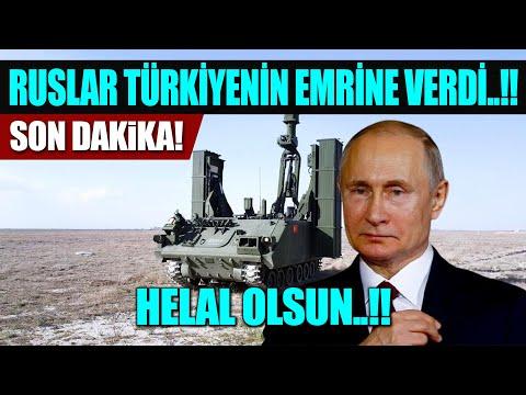 #sondakika HELAL OLSUN RUSYA..!! TÜRKİYENİN EMRİNE VERDİ..!!