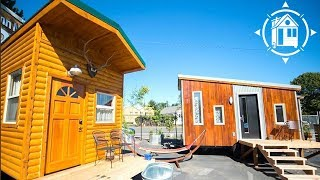Cozy,  Log Cabin-Themed Tiny House available for Rent