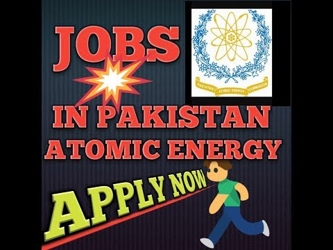 Pakistan Atomic Energy Jobs by sarkari nokri