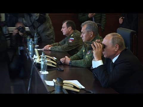 Putin observes Zapad-2017 joint military exercises with Belarus
