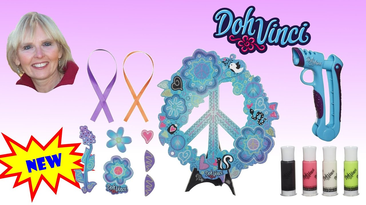 ♥♥ Play-Dohs DohVinci Peace Project Design Kit - YouTube