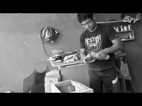 Angle grinder demo - DIY woodworking India
