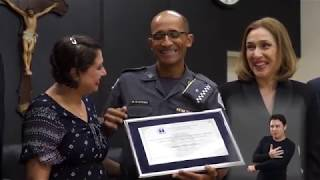 Jornal Acontece - Diploma de honra ao mérito ao Cabo PM Ricardo Alexandre