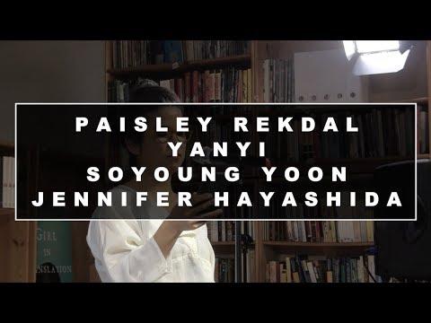 AAWWTV: Data, Poetry, Trauma with Paisley Rekdal, Yanyi, Soyoung Yoon, Jennifer Hayashida