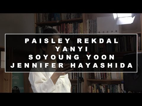 AAWWTV: Data, Poetry, Trauma with Paisley Rekdal, Yanyi, Soyoung Yoon, Jennifer Hayashida