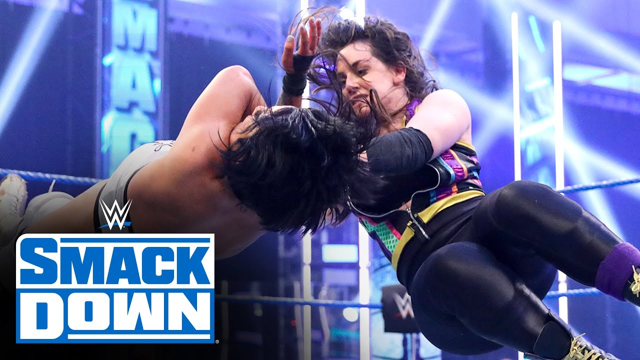 Download Alexa Bliss & Nikki Cross vs. Bayley & Sasha Banks – Tag Team Title Match: SmackDown, June 5, 2020