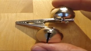 Make fishing bells: Simpler stronger and cheaper than store bought. thumbnail