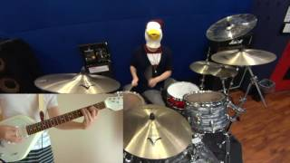ギター:@kuzonezi48 ドラム:@tomo_birdlover 8/28(日)PM13時にtoconom...