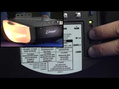 Linear LDCO800:  How to Complete a Field Reset