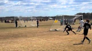Gabe Beebe, #9, Keystone Athletic, goal v LDC United U17B @ MSSL College Showcase