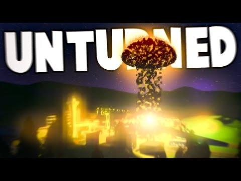 Unturned: NUKE MOD!?!? (Nuclear Missile & Launcher, Small Nuke, Huge Nuke)