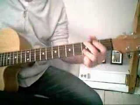 Lounge Act cover (by Nirvana, acoustic) - YouTube