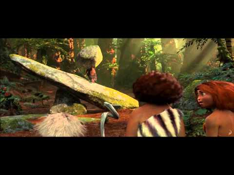 The Croods Clip # 7 (2013) - Nicolas Cage, Ryan Reynolds Movie [HD]
