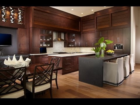 Modern Tropical Kitchen Design & Modern Tropical Kitchen Design - YouTube