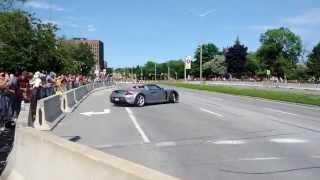 Porsche Carrera GT Drift Attempt