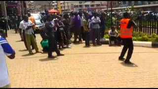 Just in case you missed this weekend's activities... #Votability Owino Flash Mob