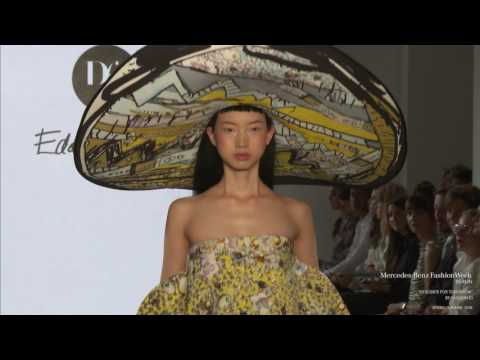 DESIGNER FOR TOMORROW BY FASHION ID MERCEDES-BENZ FASHION WEEK BERLIN SS18