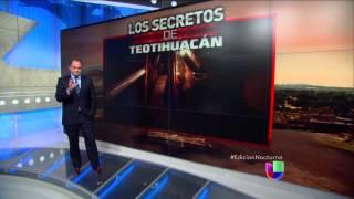 Realizan descubrimiento arqueológico en Teotihuacán