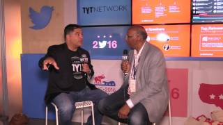Michael Steele Interview With Cenk Uygur At 2016 RNC