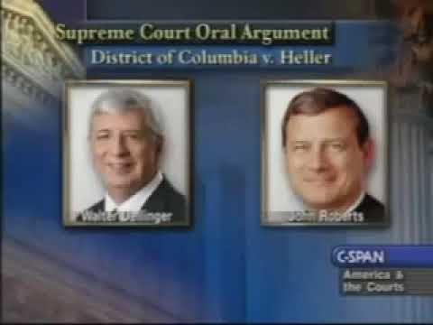 District Of Columbia Vs.  Heller Oral Arguments
