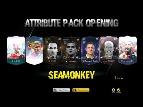 OMG THESE ATTRIBUTE PACKS THO! MUST TRY! #SPONSORED - FIFA ONLINE 3
