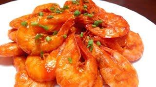 茄汁蝦,如何識別蝦的新鮮度!Ketchup Prawns!
