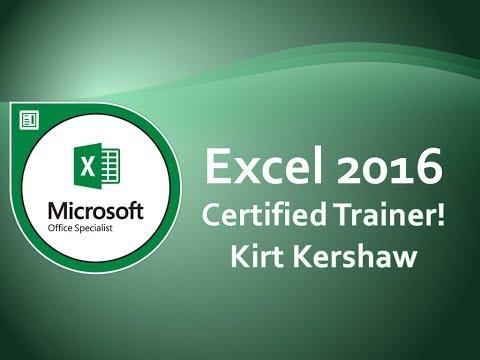 Excel 2016: Page Orientation